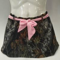 Sukne Wilderness - Pink-Belted Swim Skirt